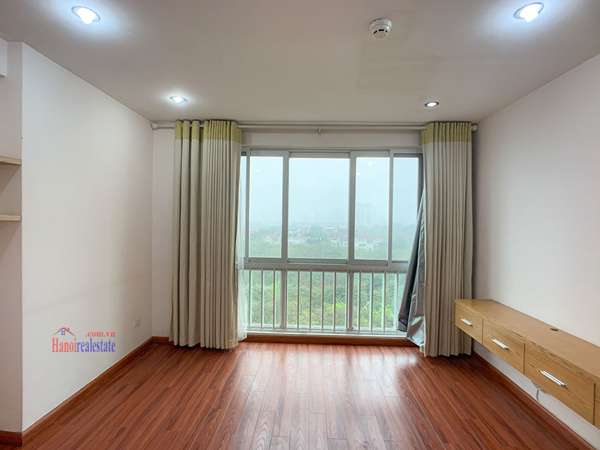 Basic Furniture 03 bedroom apartment in P1 Block, Ciputra, spacious with villas view from huge balcony 8