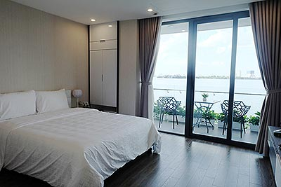 Beautiful 03BRs apartment at Ba Dinh Dist, Hanoi with amazing Westlake view