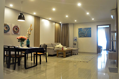 Beautiful 03BRs apartment on high floor at L4 Ciputra