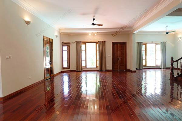 Beautiful 05BRs unfurnished house for rent at To Ngoc Van, with swimming pool 10