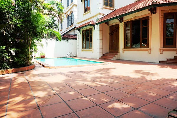 Beautiful 05BRs unfurnished house for rent at To Ngoc Van, with swimming pool 2
