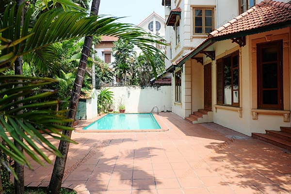 Beautiful 05BRs unfurnished house for rent at To Ngoc Van, with swimming pool 3