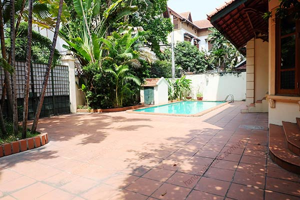 Beautiful 05BRs unfurnished house for rent at To Ngoc Van, with swimming pool 4
