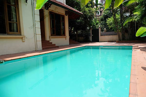 Beautiful 05BRs unfurnished house for rent at To Ngoc Van, with swimming pool 6
