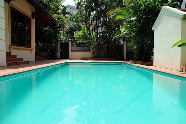 Beautiful 05BRs unfurnished house for rent at To Ngoc Van, with swimming pool 7