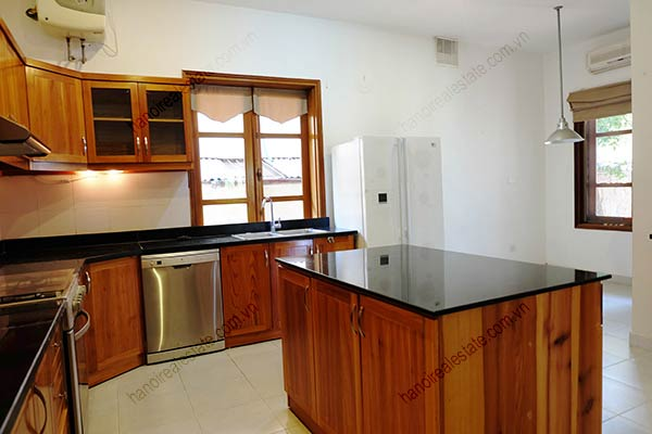 Beautiful 05BRs unfurnished house for rent at To Ngoc Van, with swimming pool 18