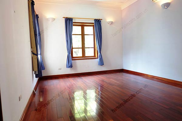 Beautiful 05BRs unfurnished house for rent at To Ngoc Van, with swimming pool 24