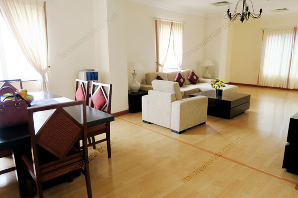 Beautiful, 3 bedroom apartment for rent in Hai Ba Trung district, Hanoi