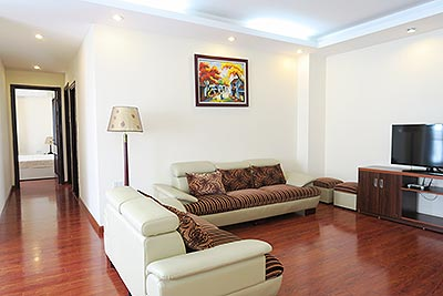 Beautiful 3 Bed Apartment rental in Tay Ho (Westlake) Hanoi, fully furnished
