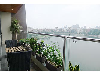 Lake View, Spacious Duplex Penthouse in Hai Ba Trung, large Balcony