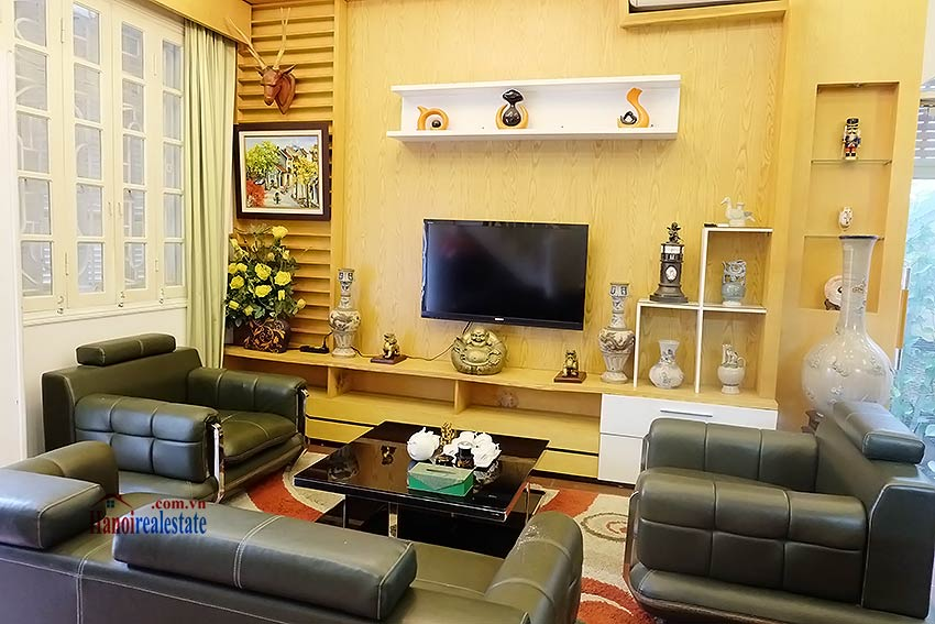 Beautiful furnished 03 bedroom house to let in Ba Dinh, Hanoi 4