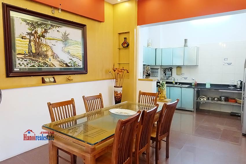 Beautiful furnished 03 bedroom house to let in Ba Dinh, Hanoi 5
