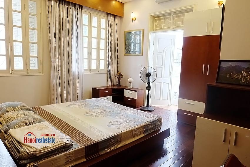Beautiful furnished 03 bedroom house to let in Ba Dinh, Hanoi 9