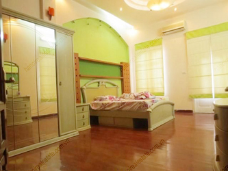 Beautiful livingroom, big bedroom house for rent in Doi Can street, Ba Dinh, Hanoi