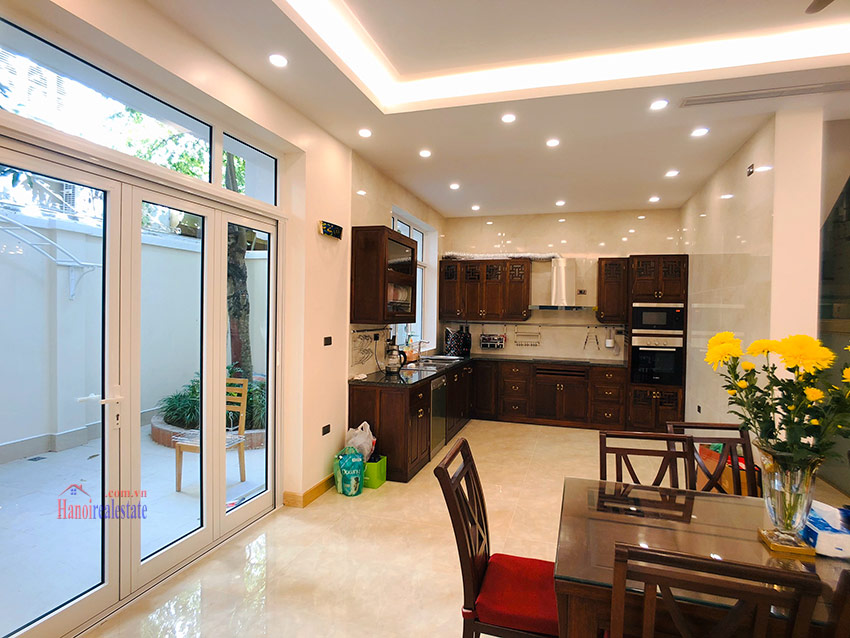 Beautiful newly renovated fully furnished 05BRs house in T block Ciputra 10