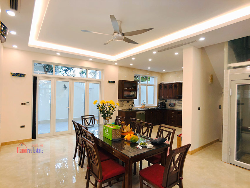 Beautiful newly renovated fully furnished 05BRs house in T block Ciputra 9