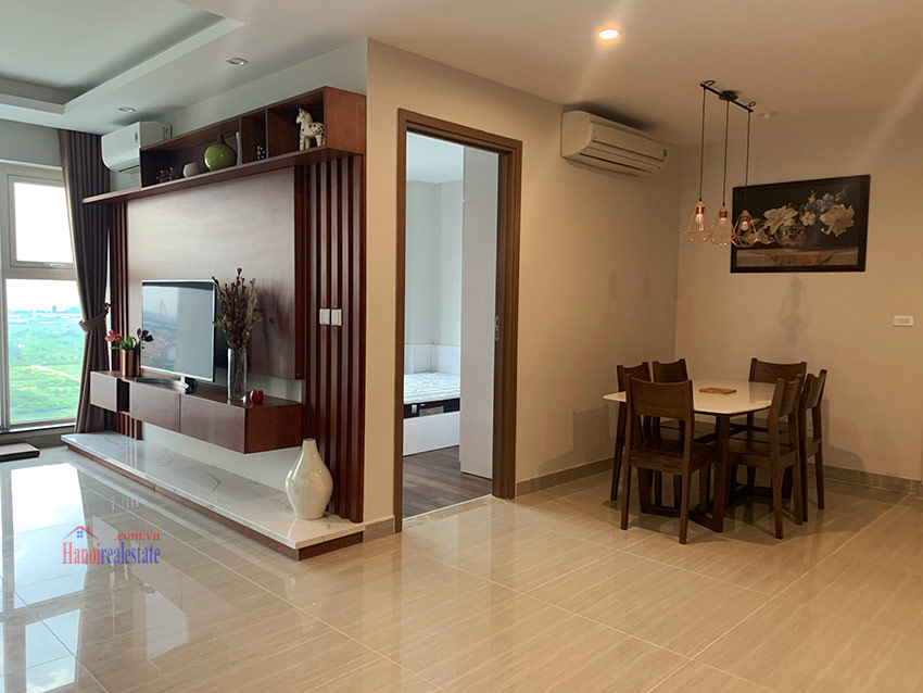 Beautiful opened Golf course view 03BRs apartment on high floor L4 Ciputra 4