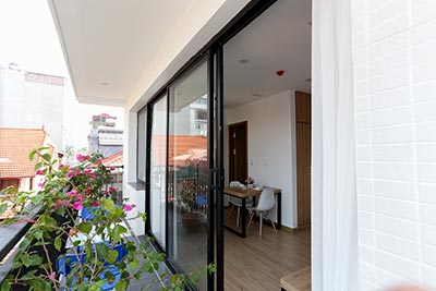 Beautiful Studio Apartment for rent in Cau Giay District Hanoi, nice balcony