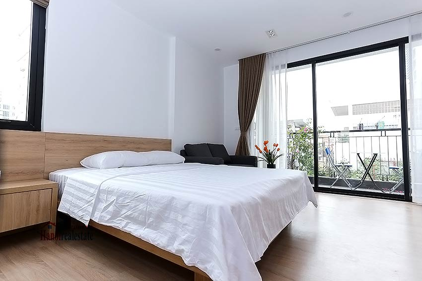 beautiful studio apartment for rent in cau giay district