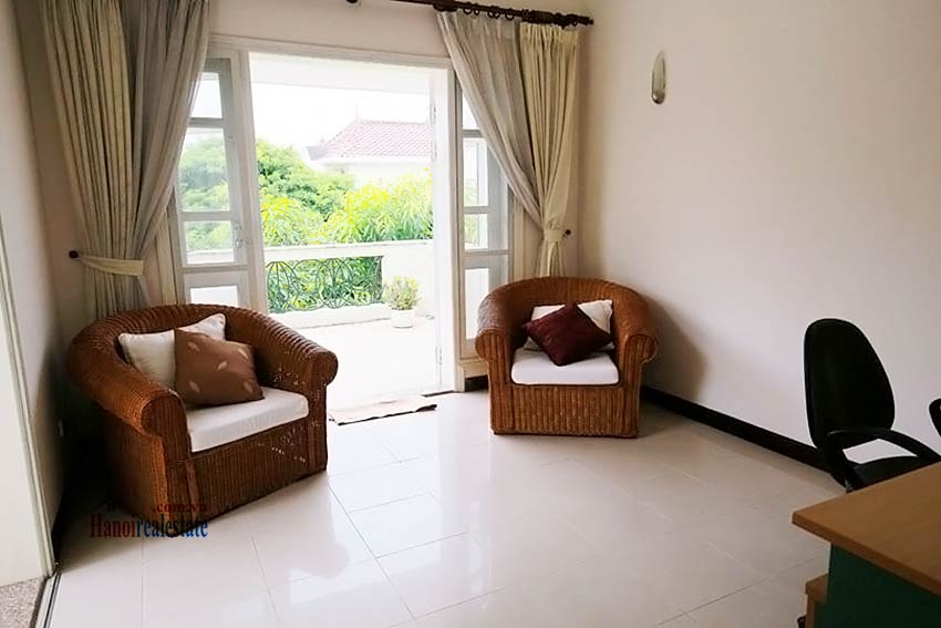 BEAUTIFUL villa to let in D block Ciputra, open view, fully furnished 23
