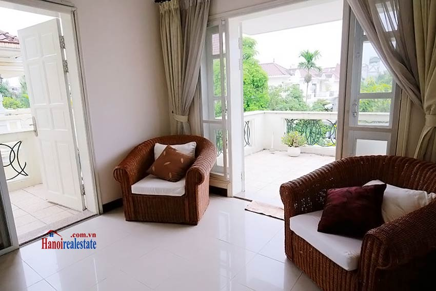 BEAUTIFUL villa to let in D block Ciputra, open view, fully furnished 24