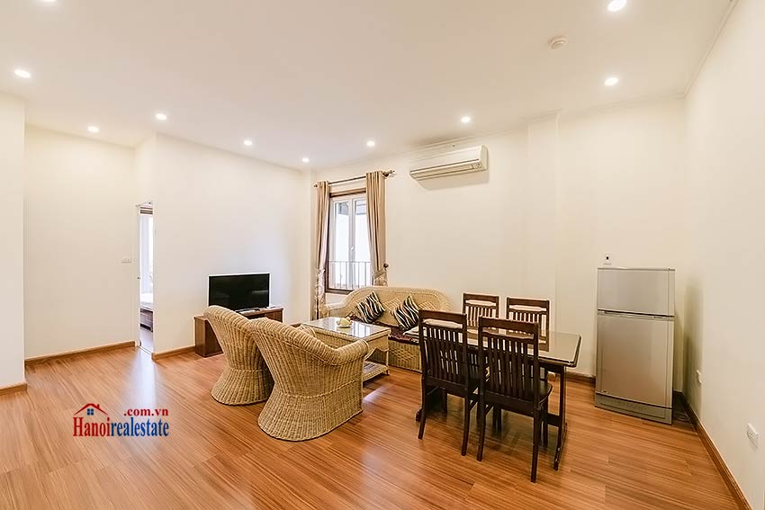 Big balcony 2 bedroom apartment to rent in Hoan Kiem, Hanoi 1
