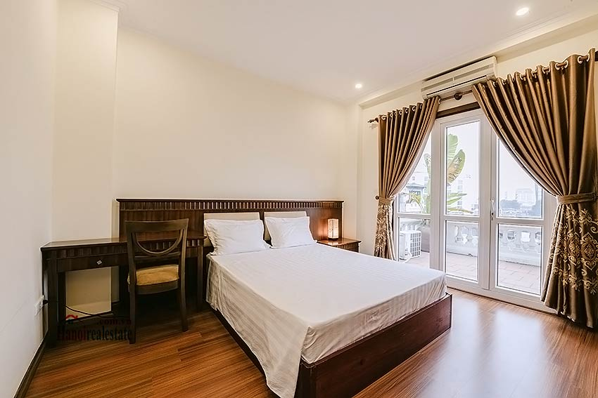 Big balcony 2 bedroom apartment to rent in Hoan Kiem, Hanoi 11