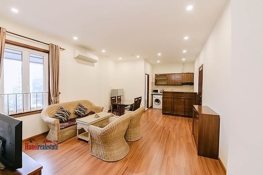 Big balcony 2 bedroom apartment to rent in Hoan Kiem, Hanoi 2
