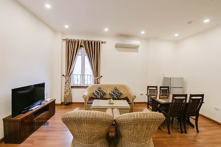 Big balcony 2 bedroom apartment to rent in Hoan Kiem, Hanoi 3