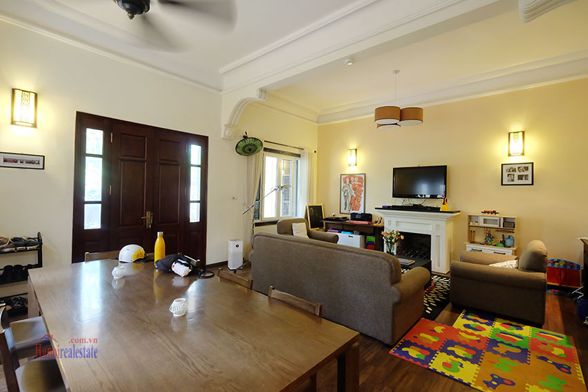 Big courtyard & furnished house in the heart of Tay Ho to rent 7