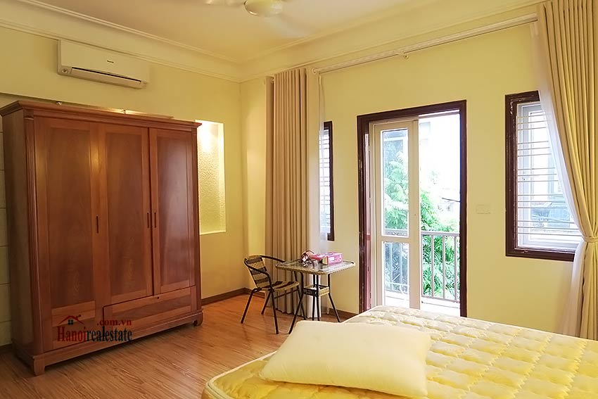 Big terrace 03 bedroom house to let in Tay Ho with fully furnished 11