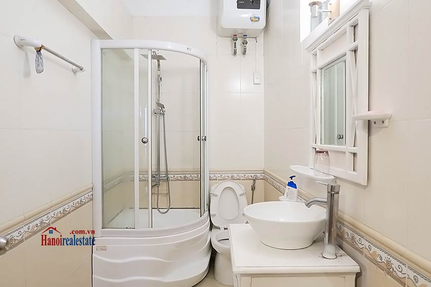Big terrace 03 bedroom house to let in Tay Ho with fully furnished 13