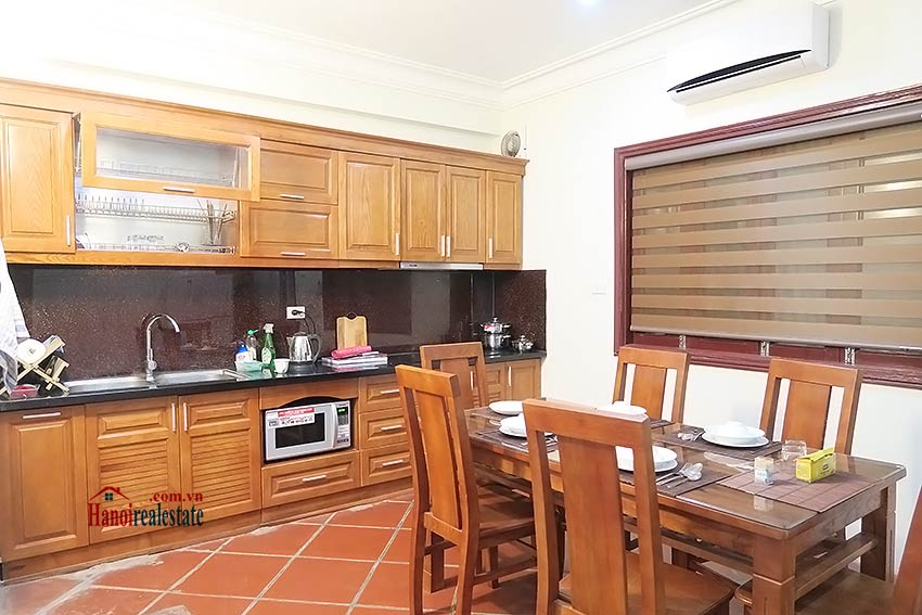 Big terrace 03 bedroom house to let in Tay Ho with fully furnished 7
