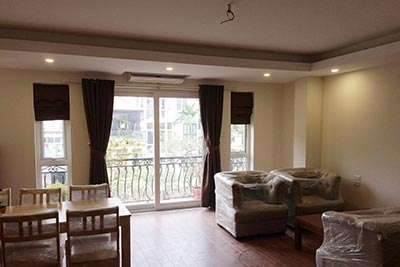 Brand new 01 bedroom apartment for rent on Tran Phu St, Ba Dinh