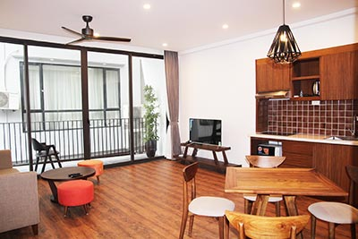 Brand new 01 bedroom apartment in the heart of Tay Ho, fully furnished