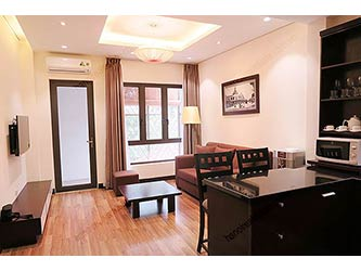 Brand new 01 BR apartment for rent in Hoan Kiem, nearby Pacific Place & Ha Noi Towers