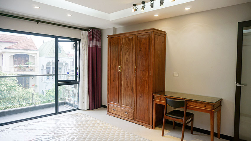 Brand new 01BR serviced apartment at Xuan La, balcony 7