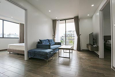 Brand new 02 bedroom apartment on Tay Ho street with open view