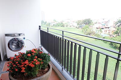 Brand new 02BRs apartment on Xuan Dieu, balcony