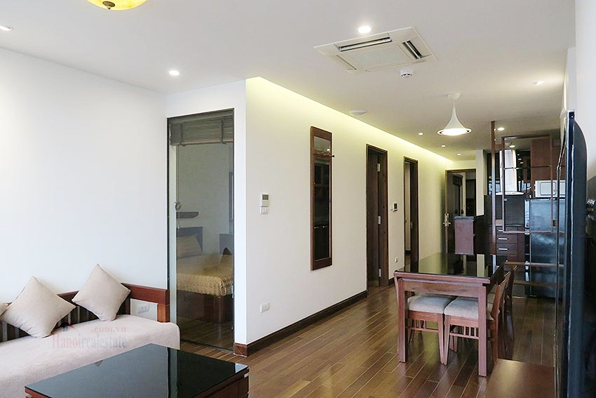 Brand new 02BRs apartment on Xuan Dieu, balcony 3