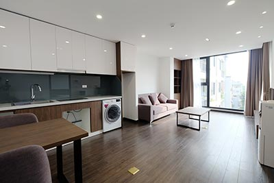 Brand new 1 bedroom apartment on To Ngoc Van to rent