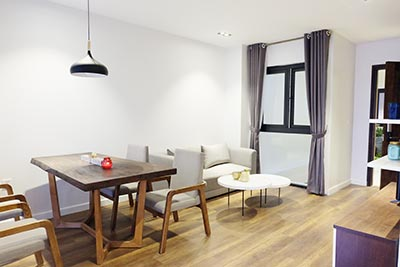 Brand new 1 bedroom apartment to let in Tay Ho Westlake, Hanoi