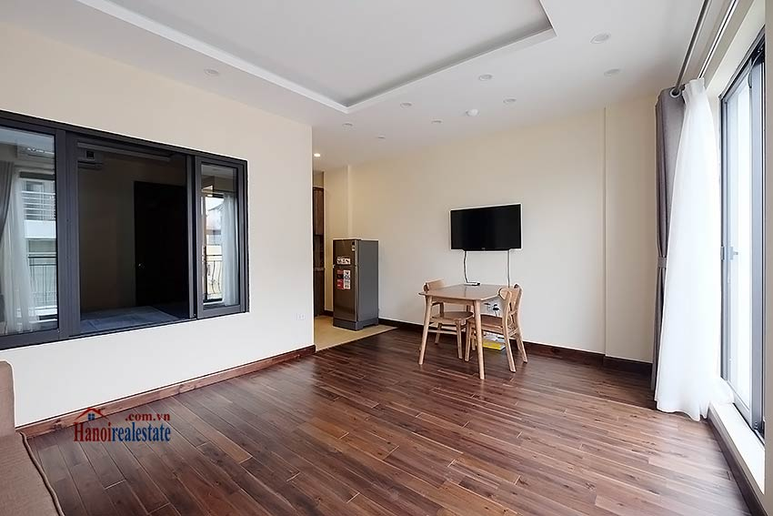 Brand new 1-bedroom apartment for rent in Truc Bach, Ba Dinh 2