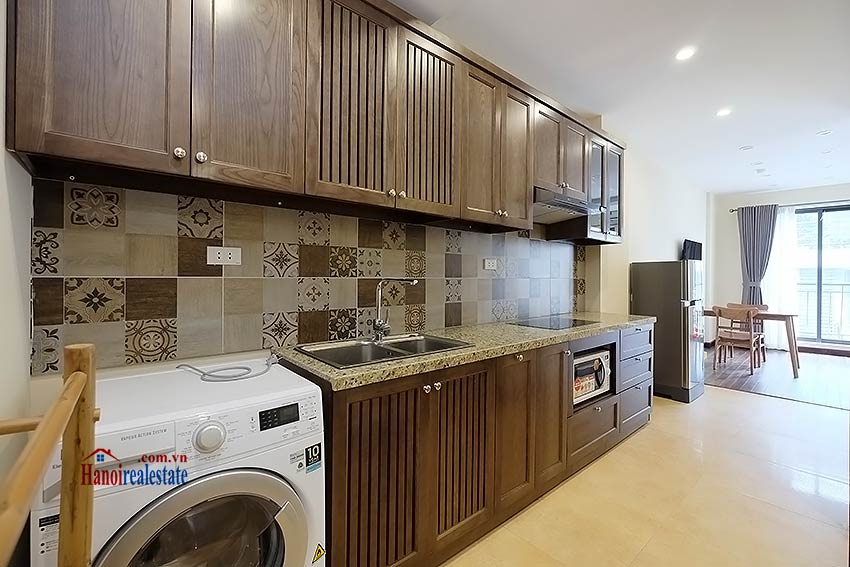 Brand new 1-bedroom apartment for rent in Truc Bach, Ba Dinh 4