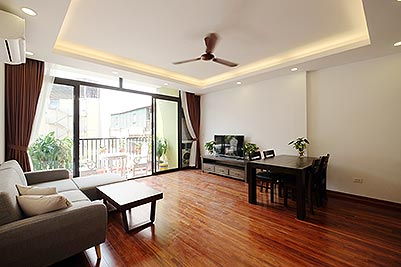Brand new 2-bedroom apartment to rent on Nam Ngu, Hoan Kiem