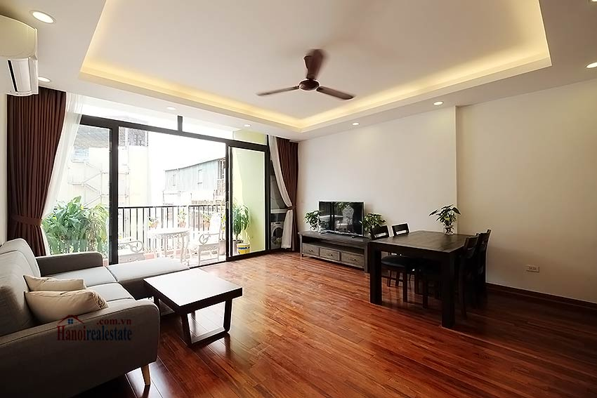 Brand new 2-bedroom apartment to rent on Nam Ngu, Hoan Kiem 1
