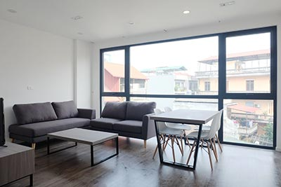Brand new apartment to rent on Au Co, Tay Ho Westlake, Hanoi