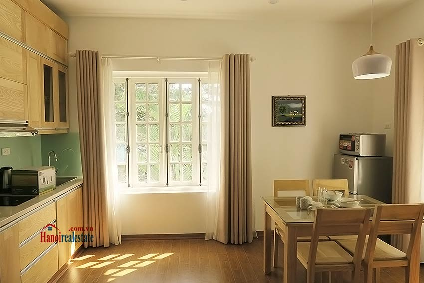Brand New  Furnished Studio Apartment On Au Co  Tay Ho