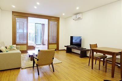 Brand new Japanese style 1 bedroom apartment to let in Hoan Kiem, Hanoi