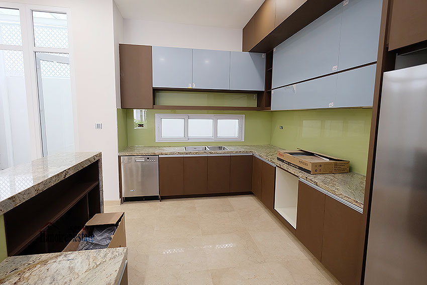 Brand new peaceful 05BRs house in K block Ciputra, unfurnished 10